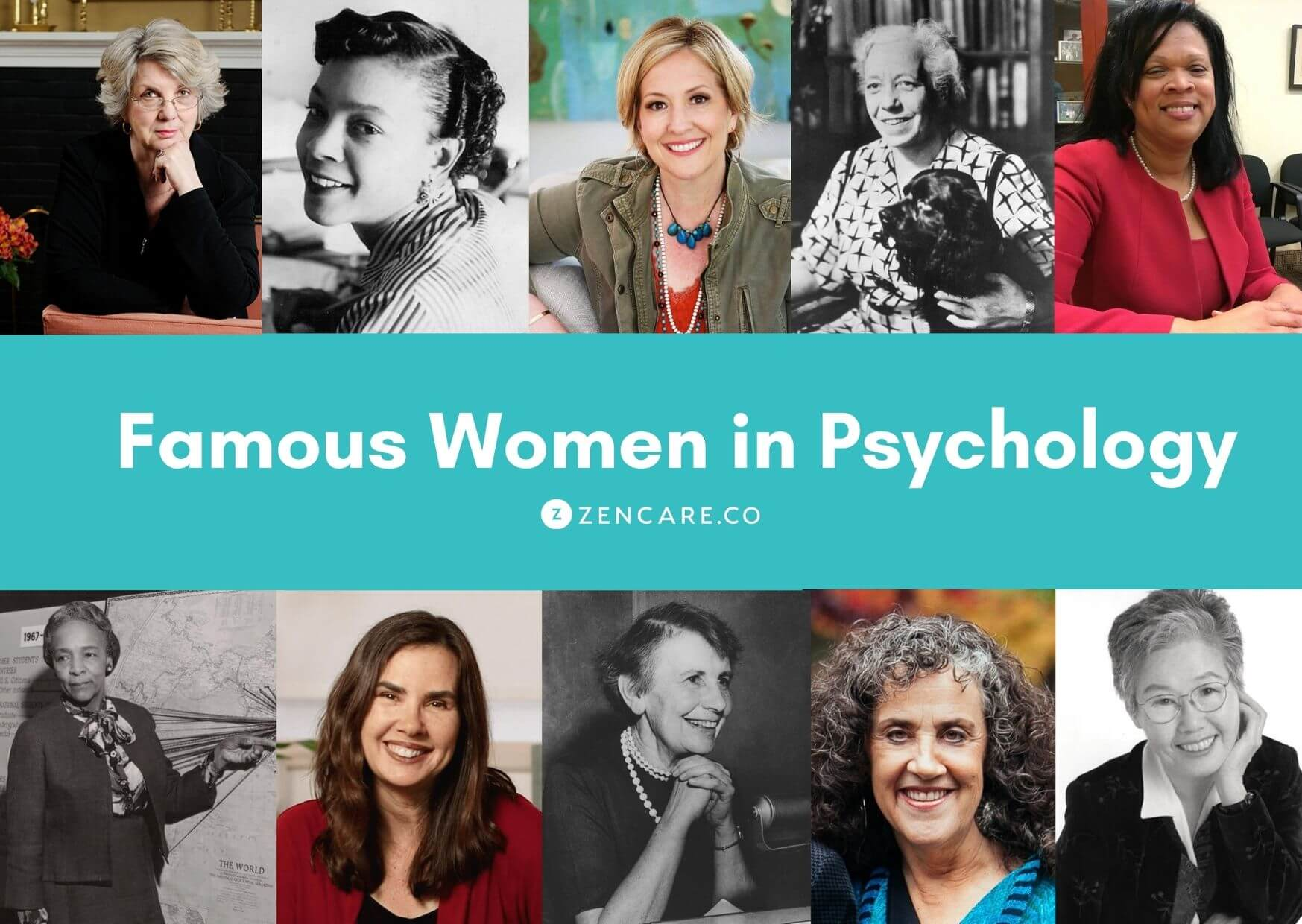 Intenrational Women's Day - Famous Womne in Psychology