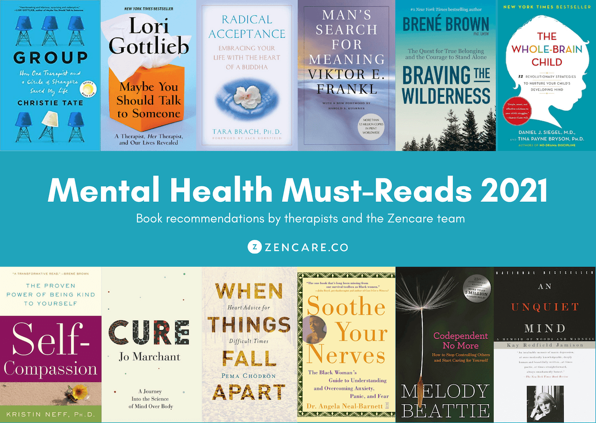 Mental health therapist book recommendations